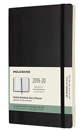 Moleskine 2019-20 Weekly - Agenda Cuaderno Semanal de 18 Meses