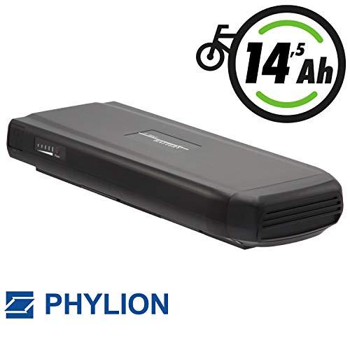 Phylion Akku Typ Joycube Wall-ES für E-Bike Pedelec 36V 14,5Ah für u.a. Batavus, Vogue, Keiler, Tretwerk