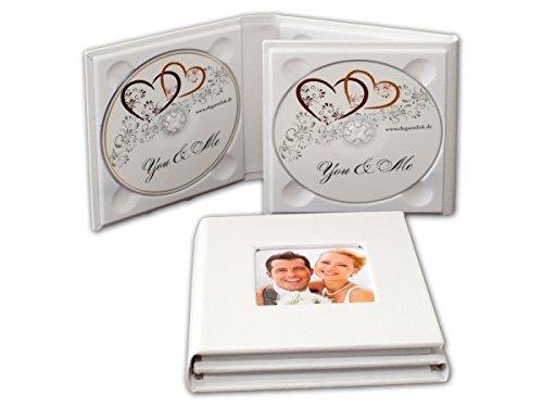 Funda de 4 compartimentos para CD/DVD/BluRay. Estuche de DVD para 4 discos, con 1 ventana.