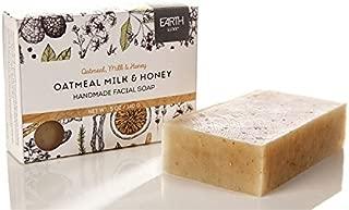 Earth Luxe Handmade Facial Soap- Oatmeal Milk and Honey
