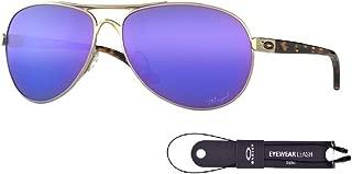 Oakley Feedback OO4079 Sunglasses For Men For Women+BUNDLE with Oakley Accessory Leash Kit