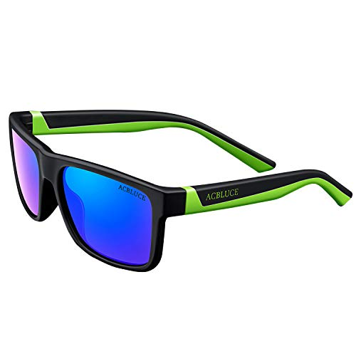 Boys Sunglasses Polarized Sports for Kids Toddlers Wayfarer UV Protection Flexible with Strap Glasses