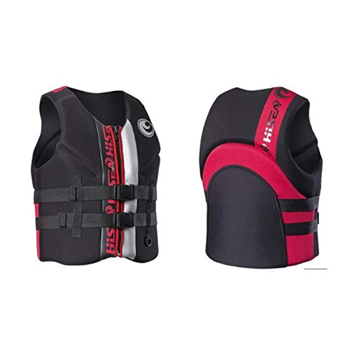 Best Prices! MINRUIGONGMAO Life Jacket Adult, Thick Vest, Sea Fishing Professional Rescue Suit, Port...