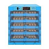 LKAIBIN 320 Huevos Incubadora automática Volviendo Grandes Pantallas Inteligentes Aves Hatcher for Granja de cría Eclosión de Pollo Pato geotrygon