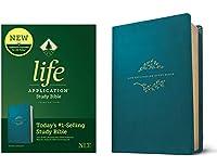 Life Application Study: New Living Translation, Teal Blue Leatherlike