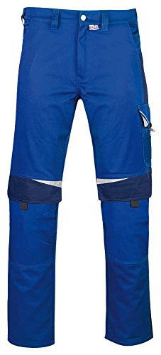 PKA BESTWORK New Arbeitshose hellblau, Arbeitsbundhose hellblau, hellblaue Arbeitshose, Gr. 50