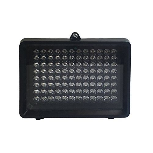 CMVision IR100-940 IR Illuminator with 940nm wavelength Indoor/Outdoor Long Range 30-100ft and Free 2A 12VDC Adaptor and 2.1mm DC cable