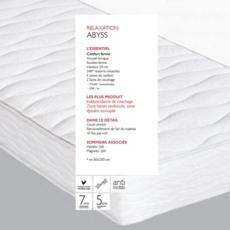 Epeda Matelas Relaxation Abyss 80x200