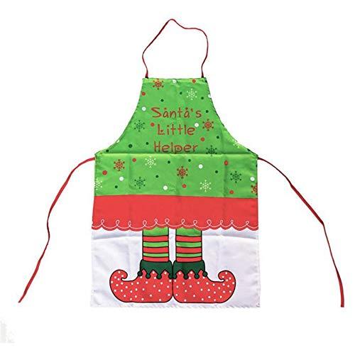 mhde Aprons 1 Stks Schort Jurk Kerst Stijl Cadeau Voor Keuken Bbq Barbecue Picknick Camping A C