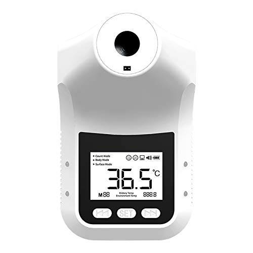 Discover IT | Industrial Hands Free Non-Contact Body Thermometer Temperature Scanner Fever Alarm