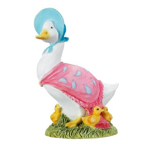Beatrix Potter - Figura Decorativa, diseño de Pato con patitos