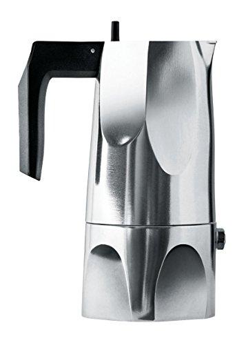 Alessi Espressomaschine, Aluguss, Alu, 24.5 x 15 x 4.5 cm