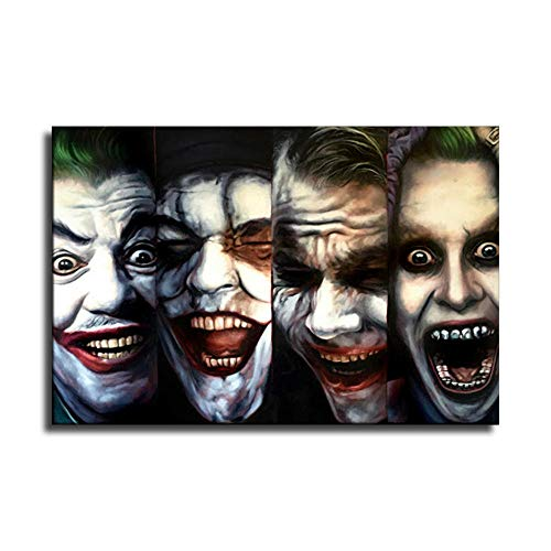 Joker Wall Art For Bedrooms And Offices