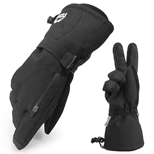 Stomp Waterproof Ski/Snow Gloves Winter Warm 3M...
