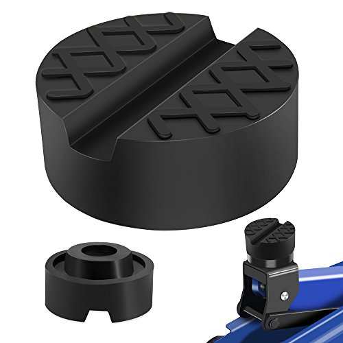 Jack Lift Pad lesgos Jack Point Pad Sturdy Adapter Protects Battery /& Paint for Using with a Floor Jack Jack Lift Pad for Tesla Model 3