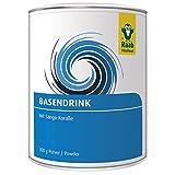Raab Vitalfood Basen-Drink, Basen-Pulver mit Mineralstoffen und Sango-Koralle, basische Ernährung, Säure-Basen-Haushalt, Balance, mit Calcium, Kalium und Magnesium, 1er Pack (300 g)