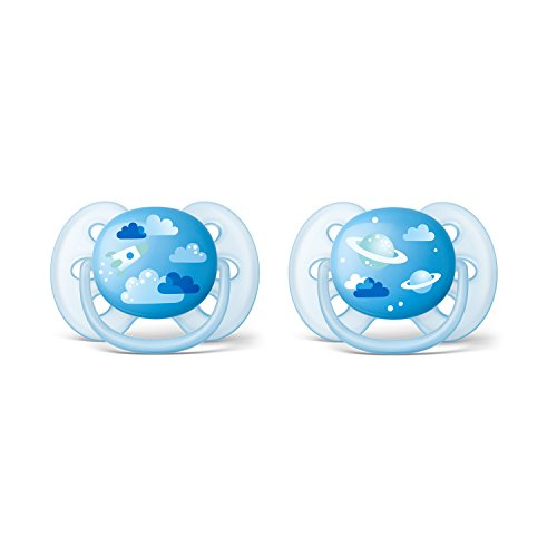 Philips Avent SCF222/22 - Pack de dos chupetes ultra suaves