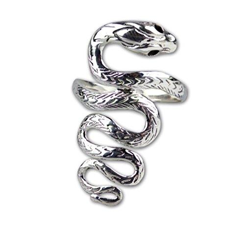 Ring Schlange Big Snake Schlangenring 925 Sterling Silber (60 (19.1))