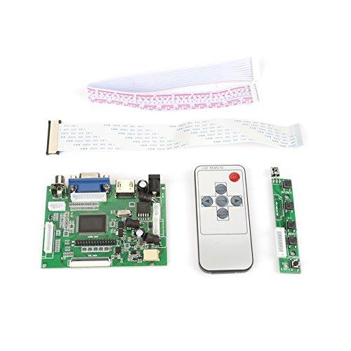 Fernbedienung, HDMI + VGA + AV LCD-Steuerplatine AT070TN92 AT070TN90 AT070TN94 50Pin 800 * 480-Bildschirm