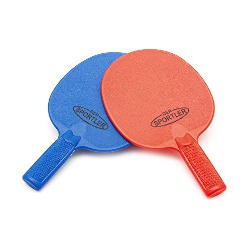 Der Sportler Outdoor Tischtennisschläger, Kunststoff stabil und gut spielbar