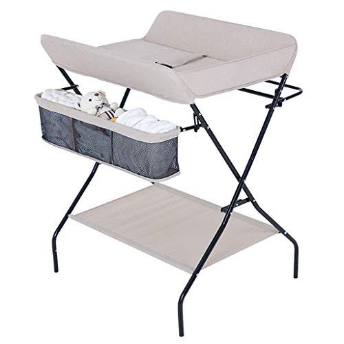 Table à Langer à Couches, Multi-Fonction Portable Pliant Couche-Culotte Massage du Nouveau-Né Baby Touch Convient Aux 0-3 Ans BéBé Capacité De Charge 25kg
