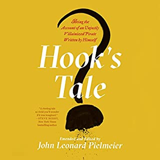 Hook's Tale audiobook cover art