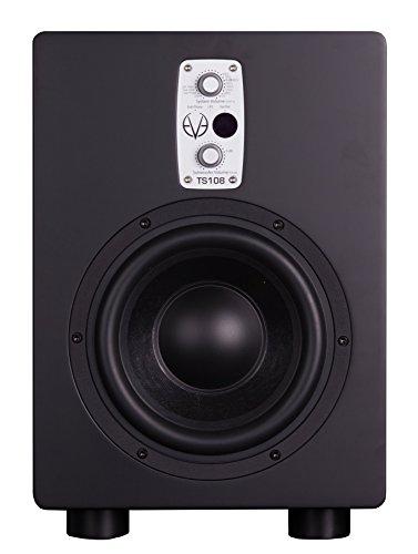 EVE audio TS108 Active subwoofer 150W Schwarz - Subwoofer (150 W, Aktiver Subwoofer, 33 - 300 Hz, 105 dB, 19,5 cm, 20,3 cm (8 Zoll))