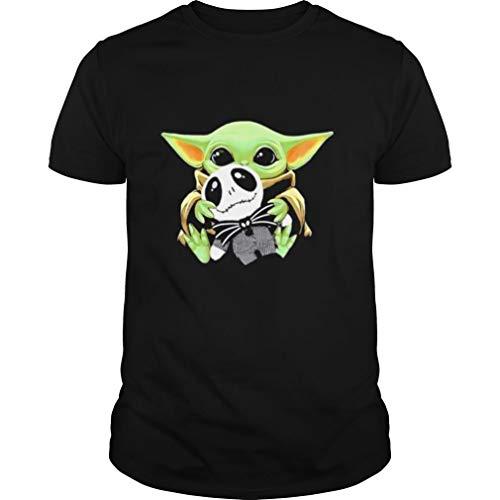 Baby Yo da Hug Jac k Skellingto n Tshirt mesh Gift Bags with Drawstring 5x7 funny T Shirts Gifts for Gamers