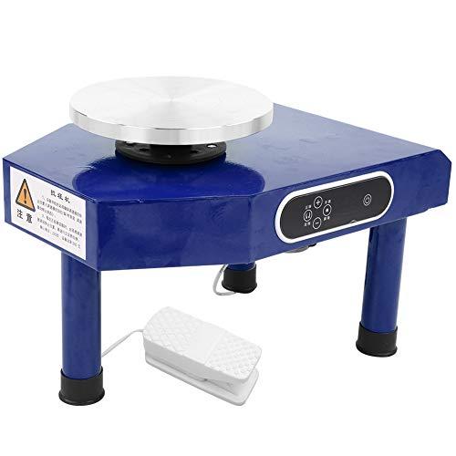 FECAMOS Machine en céramique, Machine d'art de poterie Facile à Utiliser empêche l'argile d'éclabousser pour l'école pour Salle d'art(250W UE 220V, Rose)