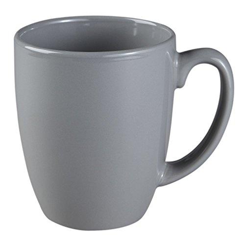 Corelle Livingware 11-oz Stoneware Mug, Slate Gray