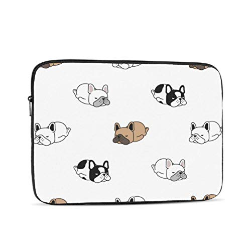 Laptop Sleeve Case 13 Inch Dog French Bulldog Laptop Sleeve/Notebook Computer Pocket Case/Tablet Briefcase Carrying Bag