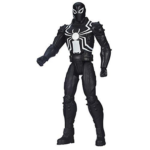 Marvel Ultimate Spider-Man Web Warriors Agent Venom Titan Hero Tech Action Figurine