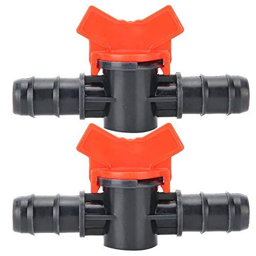 Zerodis 2 Stück Aquarium Regelventil, Fishtank Wasserflussregler Rohrrohranschluss Aquarium Luftpumpenzubehör Aquarium-Aquarium-Regelventile(14mm)
