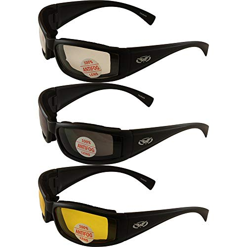 Set of (3) Stray Cats Motorcycle Glasses...