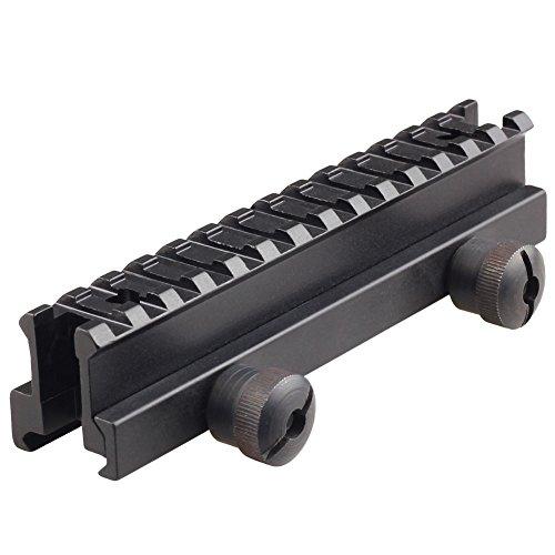 VERY100 21mm Weaver Picatinny Schiene Verlängerung Erhöhung Zielfernrohr Montage RSM05