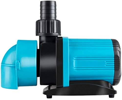 Haojie Ultra-Quiet-Fisch-Behälter-Wasser-Pumpe Tauchpumpe mit Variabler Frequenz Pumpe Wasserwasserpumpe saugseitig Bodenansaugung,80w