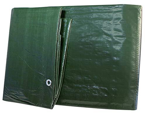 Windhager Garten Schutzplane Schutz-Plane MEDIUM, Gewebeplane Abdeckplane, grün, 100 g/m², 3 x 4 m, 07031, 3 x 4m