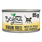 Purina Beyond Umido Gatto Grain Free Ricco in Pollo con...