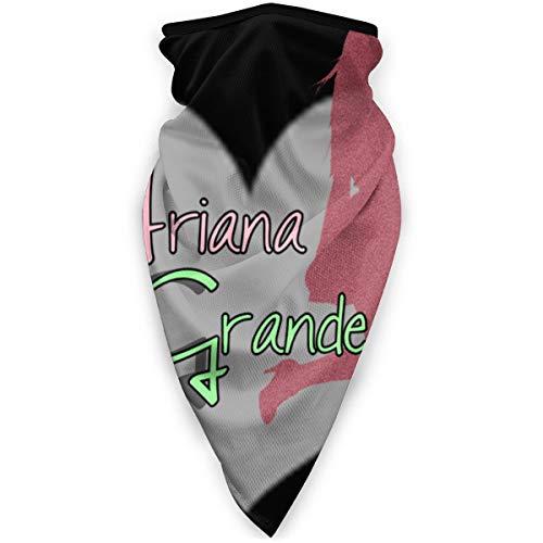 Emine_M Unisex bedruckte Gesichtsmaske, winddicht, Sport, Halstuch, Kopfbedeckung, Sturmhaube, Bandana, Taschentuch, Staub, Wind, Sonnenschutz Gr. Einheitsgröße, Arian_a Gran_de 14