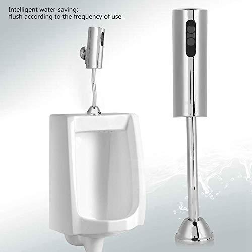 Toiletten ventil,Intelligent Sensor Urinal Ventil Vollautomatisches Toilettenventil Berührungsloses Urinal-Spülventil zur Wandmontage für die öffentliche männliche Toilette zu Hause