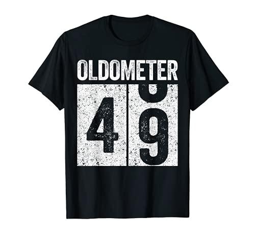 Oldometer 49 - Camiseta para regalo de 49 cumpleaños Camiseta