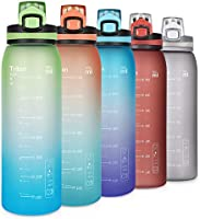 Opard Drinkfles Sport 900 ml - waterfles van Tritan BPA-vrij, lekvrije sportfles voor kinderen, sport, fitness, fiets,...