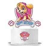 Paw Dogs Patral Skye Cake Topper for Girl Birthday