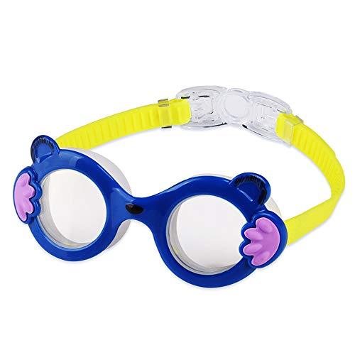 Gafas De Natación Para Niños, Gafas De Natación, Snorkel, Antivaho, Protección Ocular Impermeable, Buceo Gran Angular, Adecuado Para Entrenamiento De Natación, Natación En Interiores Y Exteriores