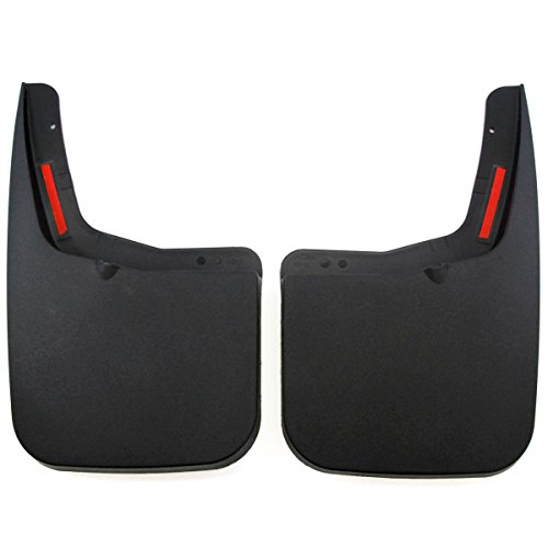 2015-2020 Compatible with Ford F-150 Mud Flaps Guards Splash Flares Rear Molded 2pc (with OEM Fender Flares)