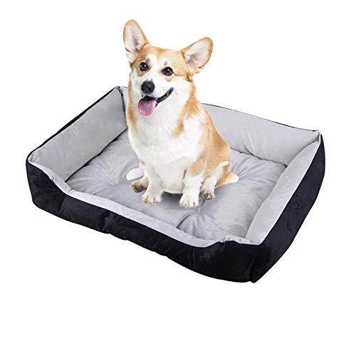 ZJXYYYzj Hundebett, Haustier Bett warm haustierbetten for kleine mittelgroße Hund weiche Haustier Nest for Hunde waschbar Haus for Katze welpen Baumwolle Kennel (Size : XL80cm)