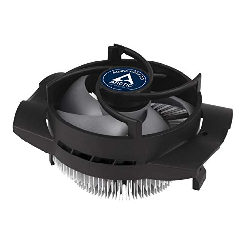 ARCTIC Alpine AM4 CO Procesador Enfriador - Ventilador de PC (Procesador, Enfriador, Socket AM2, Socket AM3, Socket AM3, Socket AM3+, Zócalo AM4, Socket FM1, Socket FM2, 9,2 cm, 100 RPM, 2700 RPM)