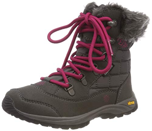 Brütting Mädchen Himalaya Kids Schneestiefel, Grau (Grau/Pink Grau/Pink), 33 EU