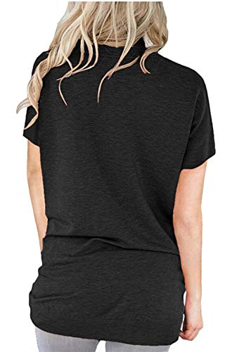 ONLYSHE Womens Crewneck Sweatshirt Casual Loose Fitting Tops Long Sleeve T Shirt
