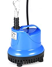 walmeck 25W 1800L/H Submersible Water Pump Mini Fountain Pump for Aquarium Fish Tank Pond Water Gardens Hydroponic Systems with Nozzle AC220-240V,Water Pump Superior Product
